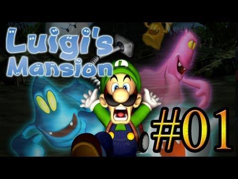 Let's Play : Luigi's Mansion - Parte 1
