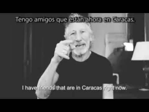 Roger Waters, contra la ayuda humanitaria para Venezuela