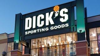 Bezoek Hengelsportafdeling Dicks Sporting Goods. U.S.A.