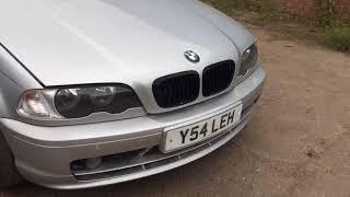 BMW 3 Series 2001: Обзор/тест автомобиля на разбор (машинокомплект) из Англии от...