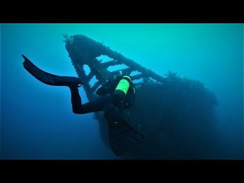 On plonge sur un navire coulé par les services secrets français - Nouvelle Zélande - Ep2