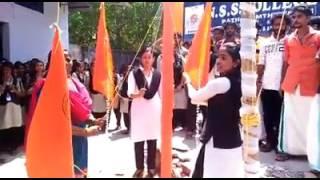 Power of ABVP kerala Mannam NSS College,konni