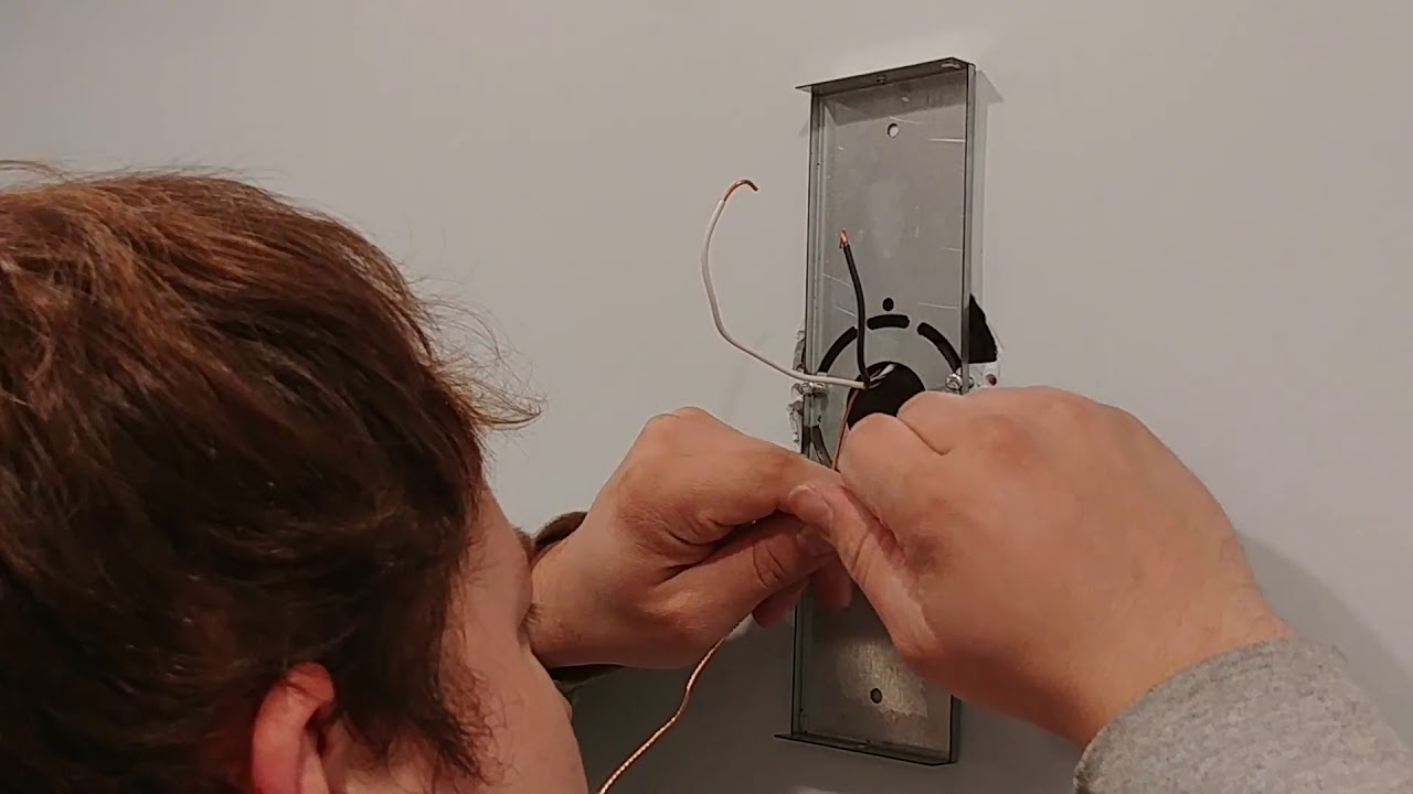 How To Install A Wall Sconce Light Fixture Bathroom Fixtures Wiring