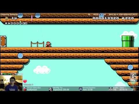 Super Mario Maker - Ultra Star '88 [Sadistic Level]