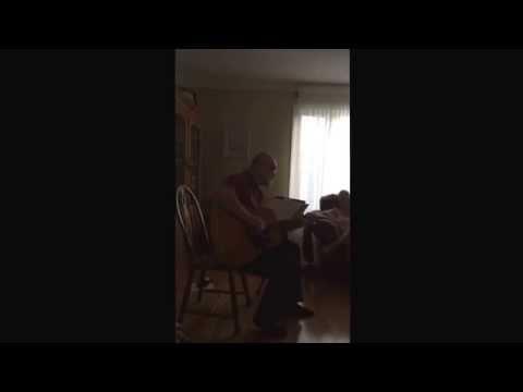 John Prince singing Newfoundland Blessing May 2014