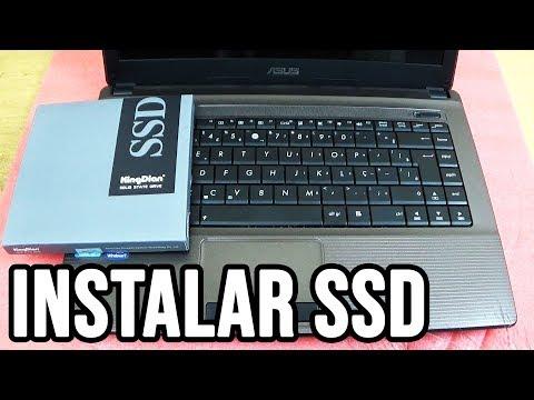 Como instalar SSD em qualquer notebook formatar e instalar o Windows - Trocar HD por SSD