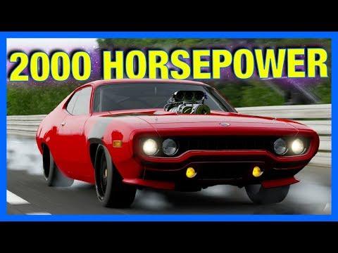 Forza Motorsport 7 Customization : 2000 HORSEPOWER TOP SPEED TEST DRIVE!!