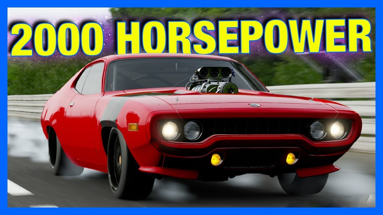 forza motorsport 7 customization 2000 horsepower top. Black Bedroom Furniture Sets. Home Design Ideas