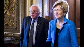 From youtube.com: Elizabeth Warren and Bernie Sanders {MID-161213}