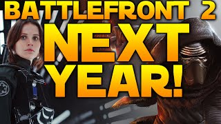 STAR WARS BATTLEFRONT 2 ANNOUNCED FOR 2017 - Based On The New Movies!