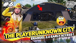 PUBG MOBILE THE PLAYERUNKNOWN CITY IN ERANGEL 2.0 EARLY ACCESS BETA & RUINS COMPLETELY CHANGED !