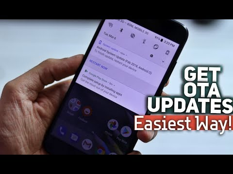 Force OTA Updates On Any Pixel Or Android One Phone Ft. Mi A1 | Easiest Way!