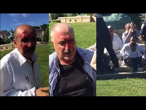 Pro Erdogan supporters attack peaceful protesters in Washington, DC