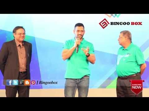 M.S.Dhoni Talks Tamil in TNPL Trophy Launch | BB