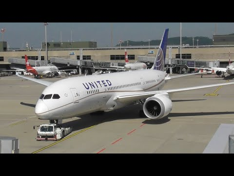 Sunny Plane Spotting at Zurich Airport, Part 2 - Filmed from the Observation Deck