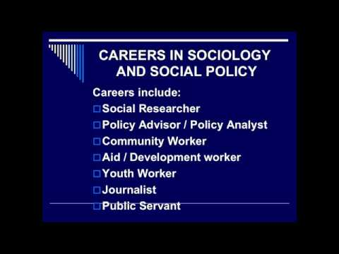Social Work and Sociology and Social Policy - TCD Undergraduate Open Day 2012