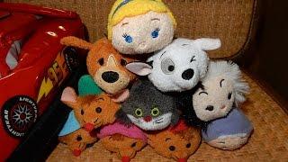 V#2 Hsky 2015 Disney Tsum Tsum 101 Dalmatian & Cinderella Jan Feb Toy Plush Collection Hd
