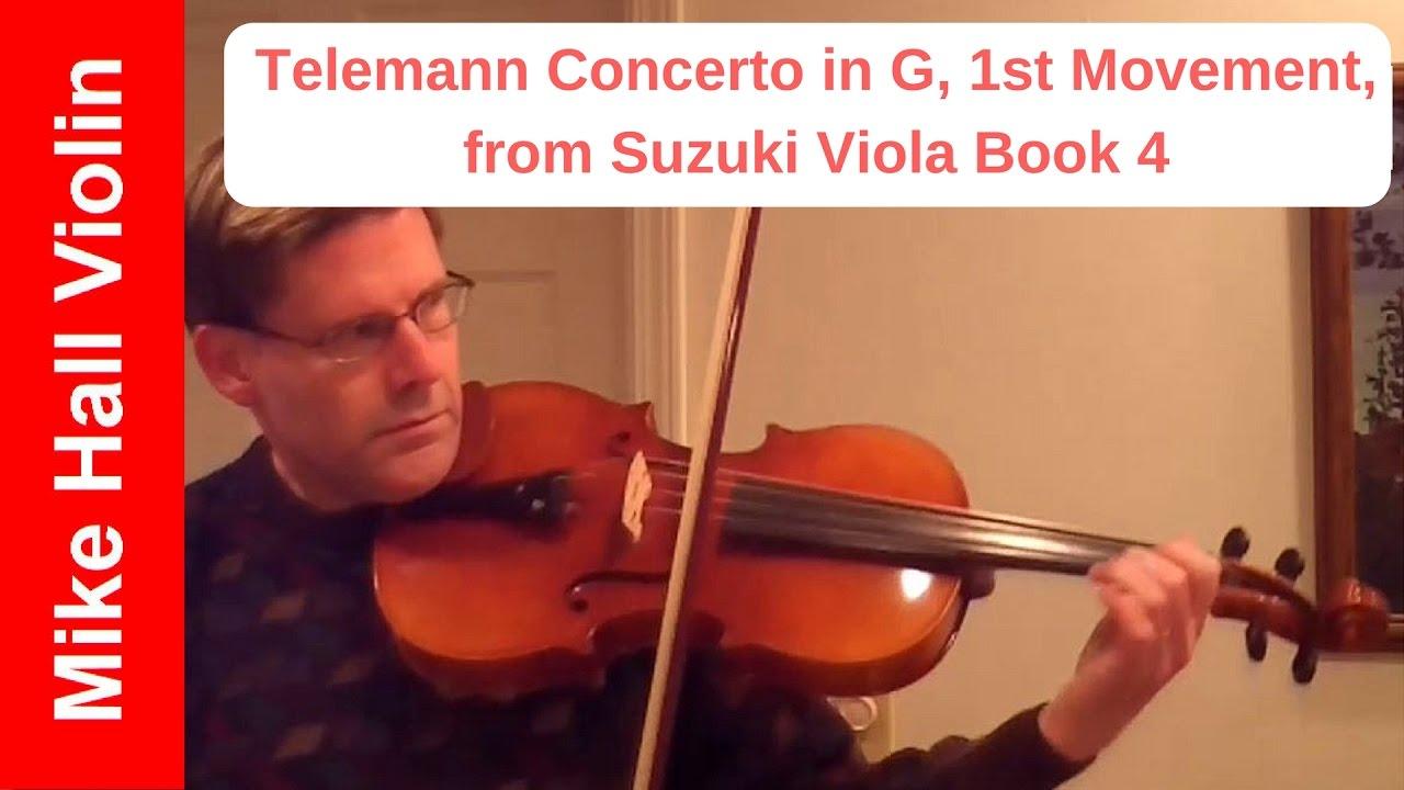 Suzuki Viola Book  Telemann