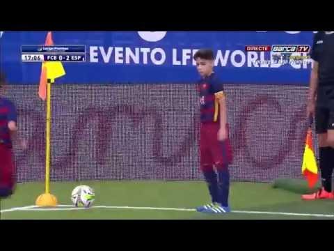 [ESP] LaLiga Promises (Alevín): FC Barcelona - Espanyol (1-2)