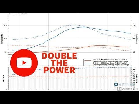 Speeduino Stock Honda D15 NA vs Turbo Results - YouTube