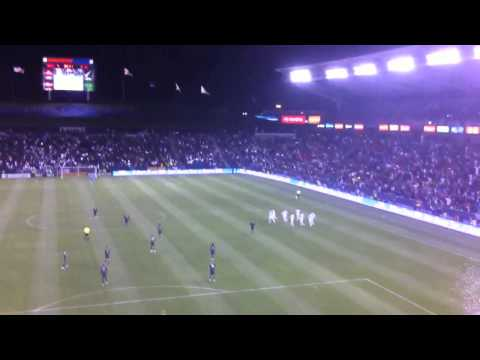 David Beckham free kick la galaxy