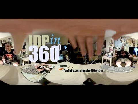 #IDP360 Test Edit with graphics - Clip from #IDP229 Inspired Disorder Podcast | 360 VR