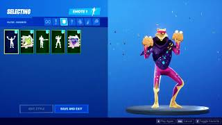 Fortnite Taco Time, Rage Quit und Pizza Party Emotes (Leaked v10.30)