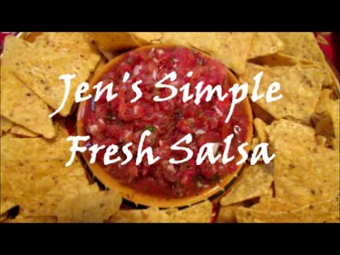 Jen's Simple Fresh Salsa Recipe