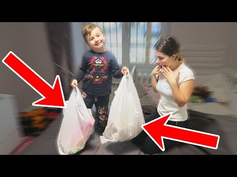 La Supermarket! 10 PRODUSE | Provocare Pentru Mamica