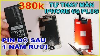 Lên SHOPEE mua màn hình iPhone 6s Plus 380k về tự thay. Pin độ sau 1 năm rưỡi | MUA HÀNG ONLINE