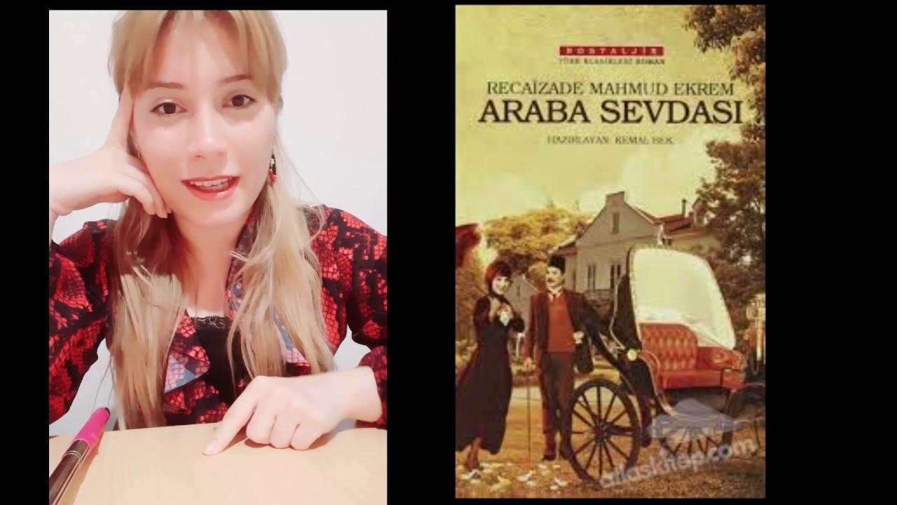 Araba Sevdası - Recaizade Mahmut Ekrem / Kitap Özeti ve İnceleme