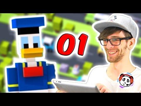 Crossy Road App deutsch 🐳 Part 1 🐔 Pandido Gaming