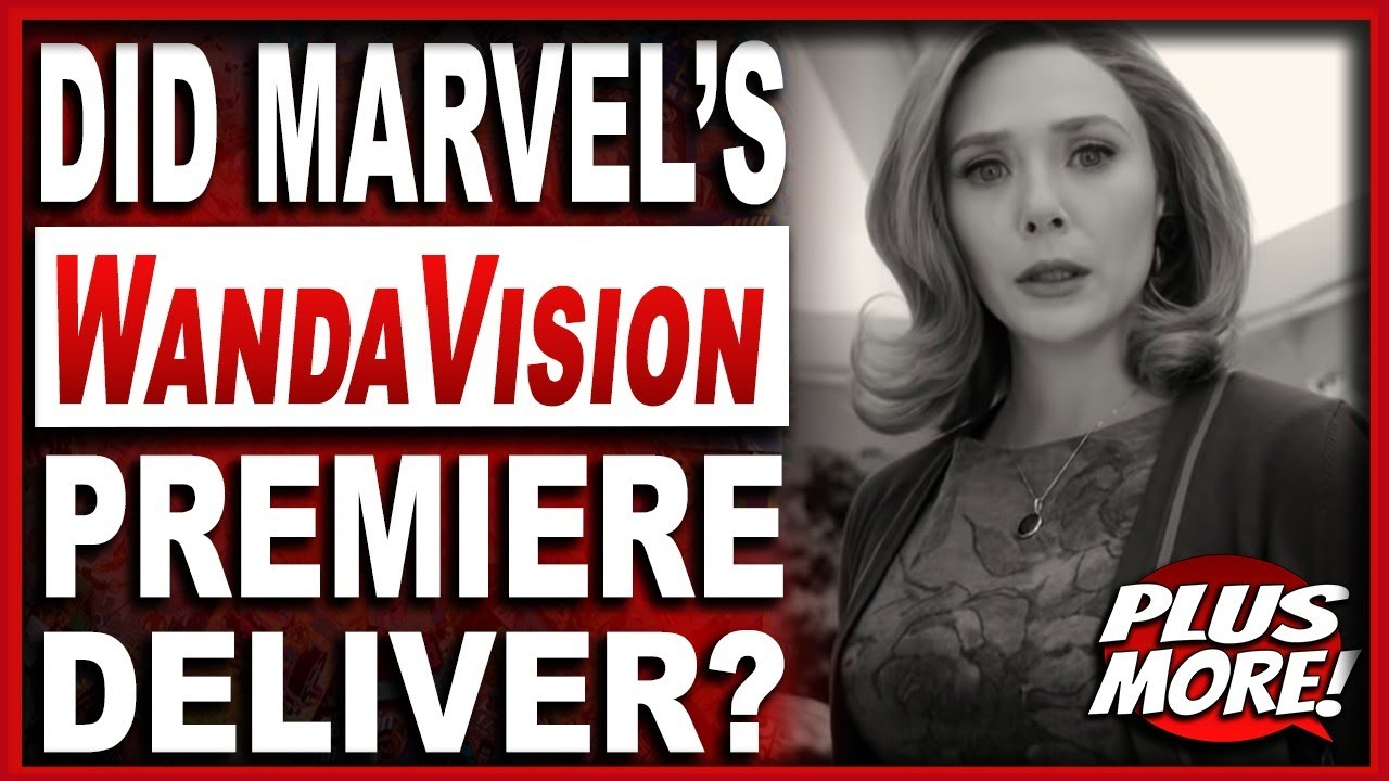 The Blerd Cave #90 | Marvel's WandaVision Premiere Discussion! Plus More!