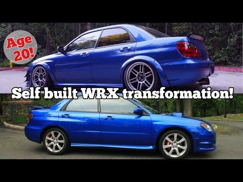 SUBARU WRX 3 YEAR TRANSFORMATION IN 23 MINS!