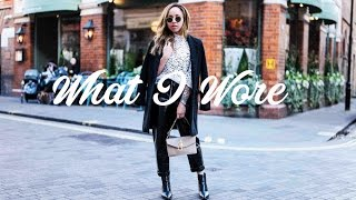 WHAT I WORE THIS WEEK | Samantha Maria