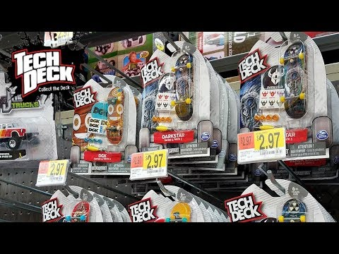 Tech Deck Toy Hunt  Santa Cruz, DGK Walmart 2017