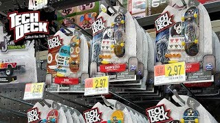 Tech Deck Toy Hunt Santa Cruz Dgk Walmart 2017 Youtube