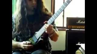 Scorched Earth Guitar solo