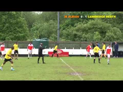 Cambridge Heath FC VS IB Albion - West End London Senior Cup Final