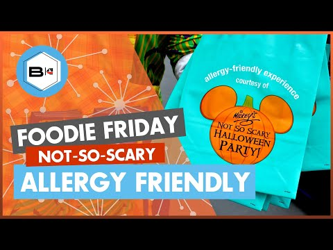 Mickey's Not So Scary Halloween Party | Allergy-Friendly Candy