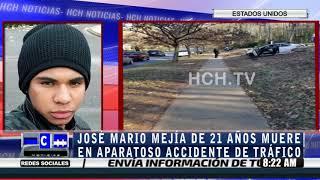 Hondureño perece tras aparatoso accidente en Carolina del Norte #EEUU