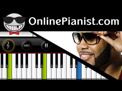 Flo Rida - Good Feeling - Piano Tutorial