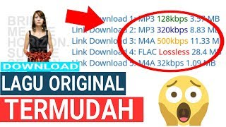 Cara Download Lagu Original Termudah