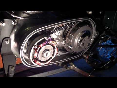 How To Replace The Alternator Stator On A Royal Enfield Bullet Motorcycle