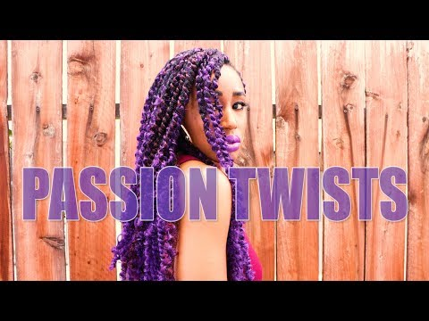 Purple Passion Twists! (You Probably Don't Need 9 Packs of Hair.)   Styleday, Vol. 4