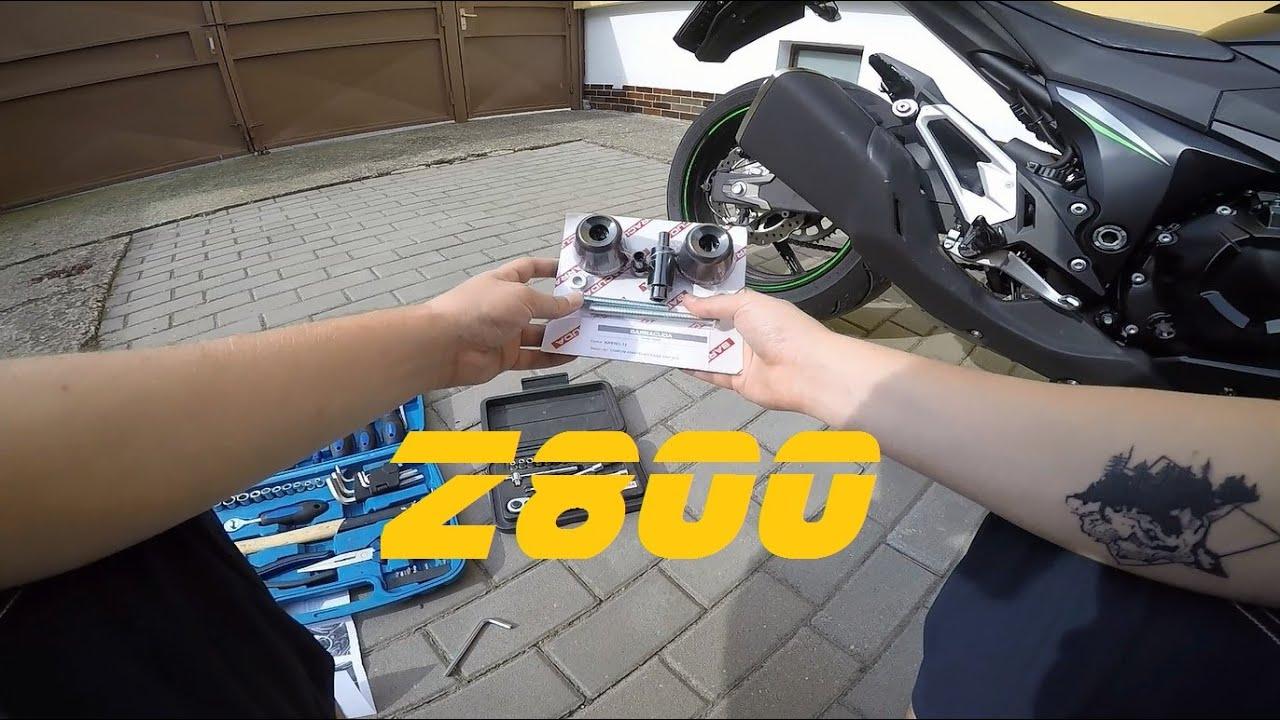 KIT TAMPONI SLIDER PARATELAIO BARRACUDA KAWASAKI Z 800 Z800