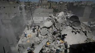 مجزرة في حلب المدينة وداعش ينهار في الريف