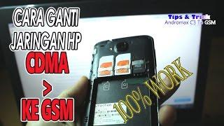 Tutorial merubah jaringan CDMA ke GSM di Andromax c3 step by step
