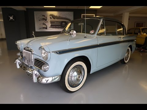 SOLD - 1960 Sunbeam Rapier 1500 Mk3 Coupe for Sale in Louth Lincolnshire