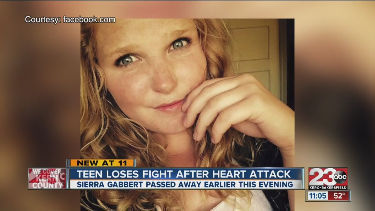 Teen Loses Fight After Heart Attack Youtube